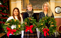Wreath Making at The Bedford Hotel